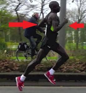 proper running arm positioning